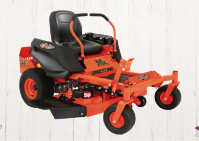 "Bad Boy MZ. Your choice of a Kholer KT725 725cc engine with a 42"" deck or a Briggs 19HP 540cc engine with a 42"" deck"